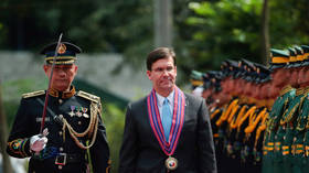 US defense chief Esper urges 'very public posture' on Beijing's South China Sea claims