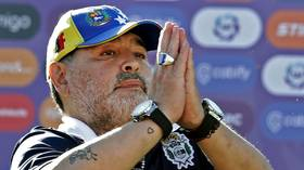 Diego's off again! Maradona quits as boss of Argentine club Gimnasia after just 2 months in charge