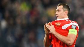 Anger in Russia after captain Artem Dzyuba abused by OWN FANS during Euro qualifier