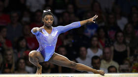'Makes me sick to my stomach': Simone Biles slams school banner 'joke' about pedophile doctor Larry Nassar