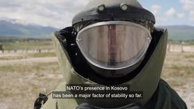 Propaganda video of NATO's smoke and mirrors over Kosovo hides some inconvenient truths