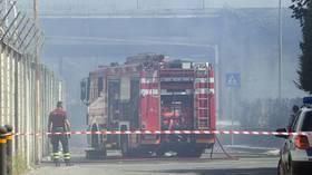 Several dead & injured after explosion at fireworks factory in Italy – local media