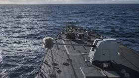 Pentagon clears sale of $1bn naval guns to India as top brass in US fan China scare