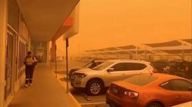 'Apocalyptic-like scenes' as huge dust storm turns Australian town ORANGE (PHOTOS/VIDEOS)