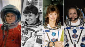 'Blast-off can't be timed around a period': MALE cosmonaut in hot water as he explains why fewer Russian FEMALES make it in space
