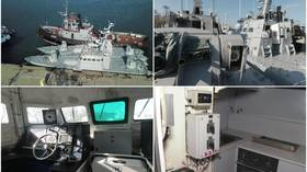 Ukraine claims Russia returned seized ships 'ruined & without TOILETS'... but FSB shows them to be intact (PHOTOS, VIDEO)