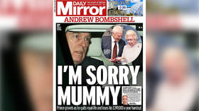 'I'm sorry mummy': UK papers blast Prince Andrew as Epstein pal steps down from public duties