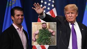 'I don't know him, but his dad was in Home Alone': Russian 'Slapping Champion' responds to Donald Trump Jr using video