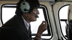 'Assassination attempt': Bolivia's Morales is certain helicopter malfunction was bid to kill him