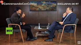 Bolivia coup ended a period of stability the country hadn't seen for over 180 years, Evo Morales tells Rafael Correa on RT