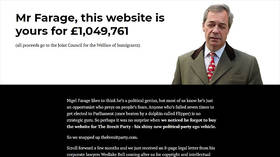 Pro-EU group trolls Brexit Party by holding domain name to £1mn ransom