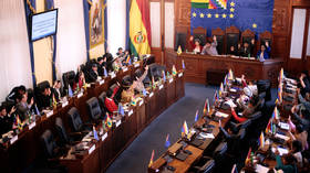 Bolivia's lower house greenlights bill paving way for new elections & barring Morales