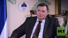 Unfinished business? Milorad Dodik, Serb member of the Presidency of Bosnia and Herzegovina