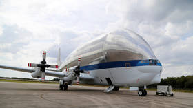 NASA's huge & cavernous Super Guppy plane called in to haul SPACECRAFT from Florida to Ohio (PHOTOS, VIDEOS)