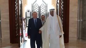 Erdogan in Qatar on first Arab trip since Turkey's campaign in Syria