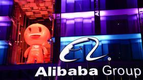 Alibaba stock skyrockets in Hong Kong trading debut