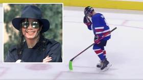 Moonwalk on ice: Young San Jose Sharks player produces Michael Jackson-inspired celebration during shootout (VIDEO)