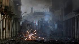 Baghdad blasts kill 6 as top Pentagon officials visit Iraq