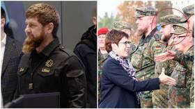 Top-secret mission? 'Ramzan Kadyrov' photographed in… German Army uniform