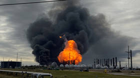 60,000 people ordered to flee as another explosion rocks burning Texas chemical plant (PHOTOS, VIDEOS)
