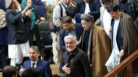 Afghanistan's presidential election recount draws protests in Kabul