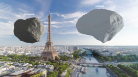 Asteroids v Eiffel Tower? ESA gets cash boost, shares breathtaking mockup of space rocks at famous landmark