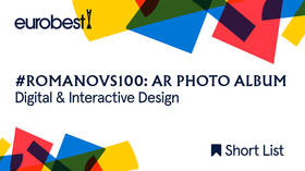 Eurobest shortlists #Romanovs100 AR Photo Album for Digital & Interactive Design award