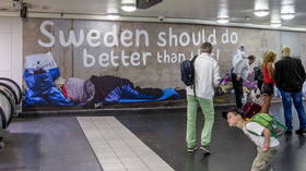 Almost 50 percent of Sweden's homeless population is foreign-born – report