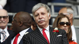 'We want our Arsenal back': Gunners fans protest & demand US owner Kroenke leaves club after Super League debacle (VIDEO)