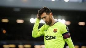 'Don't let Roma happen again': Footage reveals Messi's ill-fated warning to Barca teammates before they collapsed at Liverpool