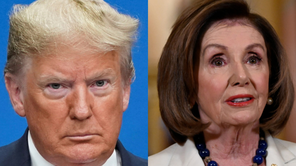 'Cruel coward' Trump versus 'nervous wreck' Pelosi: Impeachment drama heats up