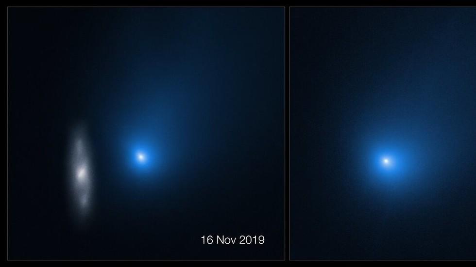 Hubble snaps 'close ups' of interstellar comet Borisov as it passes through our solar system (PHOTOS)