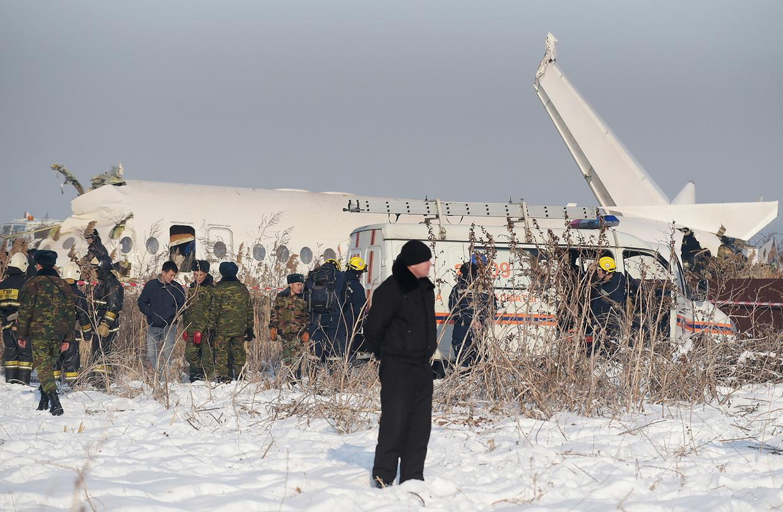 Kazakhstan jet crash