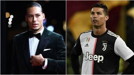 Van Dijk insists he 'respects' Ronaldo despite trolling beaten Juve star on Ballon d'Or red carpet
