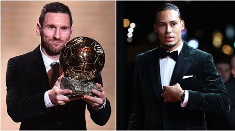 REVEALED: Ballon d'Or voting numbers show Van Dijk came AGONIZINGLY close to pipping Messi to top prize