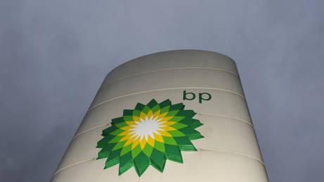FILE PHOTO: A BP petrol station logo © Reuters / Toby Melville