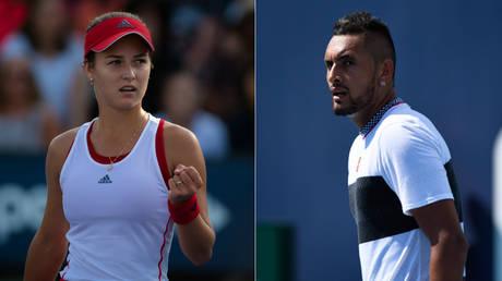 'Satan leave my Instagram': Russian tennis player Kalinskaya to Aussie 'bad boy' Kyrgios…  what's going on?