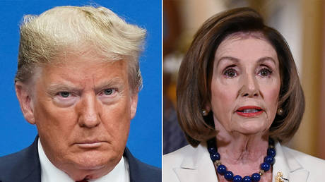 Donald Trump and Nancy Pelosi © Reuters / Kevin Lamarque and Erin Scott and