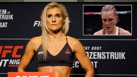 My broken nose has helped, says Yana 'Foxy' Kunitskaya as Russian UFC star aims to build title shot momentum