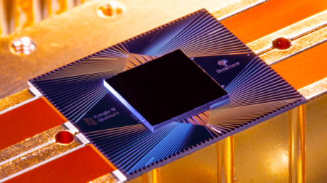 Google's 'Sycamore' quantum processor © Google