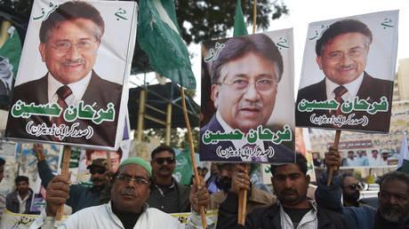 Pakistani celebrities divided over former president Musharrafs death sentence
