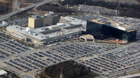 FILE PHOTO: An aerial view of the National Security Agency (NSA) headquarters in Ft. Meade, Maryland © Reuters / Larry Downing