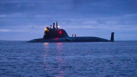 FILE PHOTO. A Yasen-M submarine.
