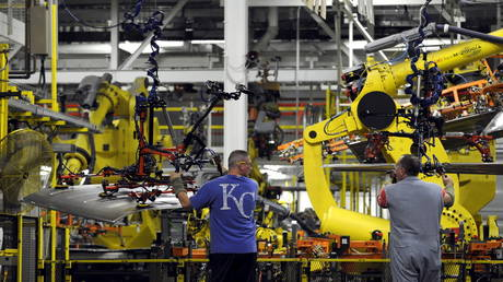 FILE PHOTO: Ford's Kansas City Assembly Plant © Reuters / Dave Kaup