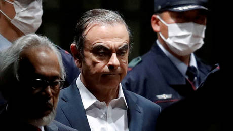 FILE PHOTO: Former Nissan Motor Chariman Carlos Ghosn © Reuters / Issei Kato