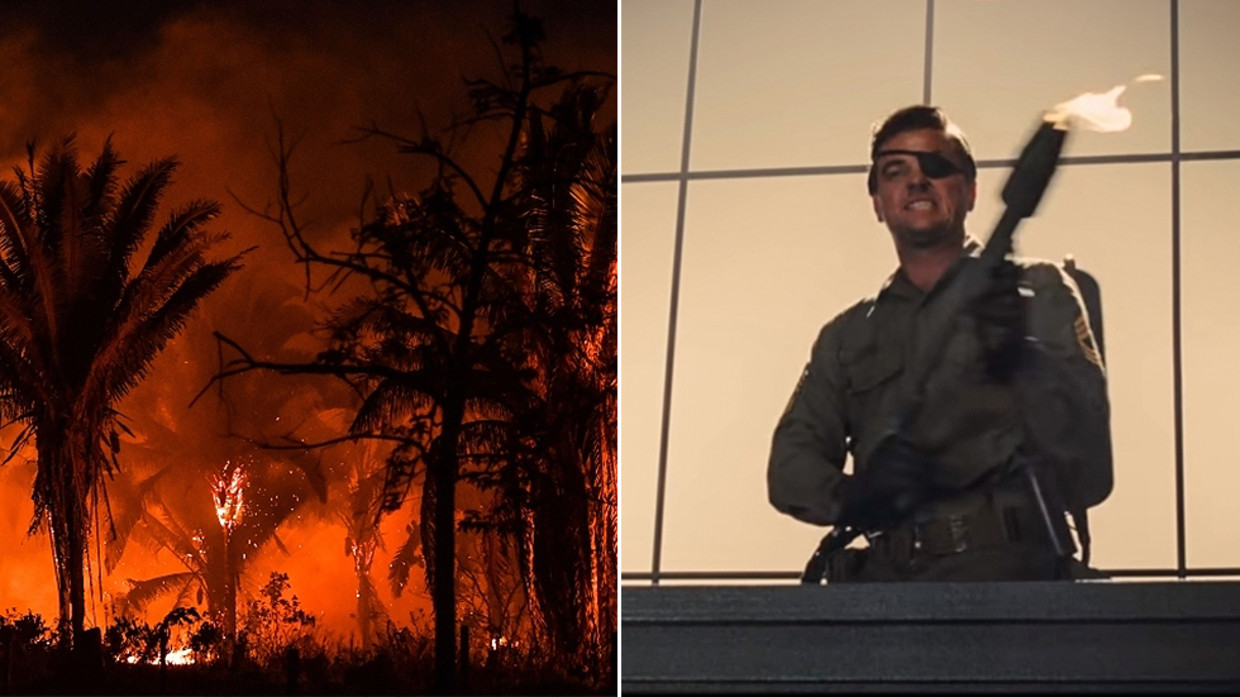 Twitter Erupts With Flamethrower Memes As Bolsonaro V