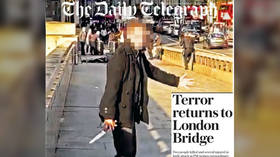 Front page fail: Telegraph blasted for smearing clumsy headline over photo of London Bridge HERO