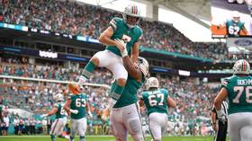 'Greatest trick play in NFL history': Miami Dolphins bamboozle Philadelphia Eagles with incredible trick touchdown (VIDEO)