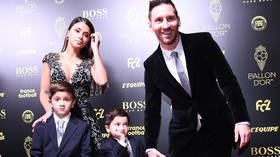 WATCH: Camera captures adorable reaction of Messi's 4yo son Mateo as his dad wins Ballon d'Or for record 6th time