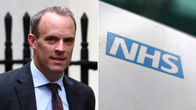 'I've never advocated that': Foreign Sec Raab left red-faced as 'NHS privatization' book comes back to bite him